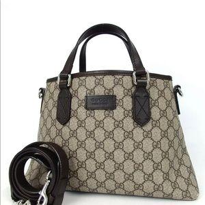 Gucci GG pattern 2way shoulder bag